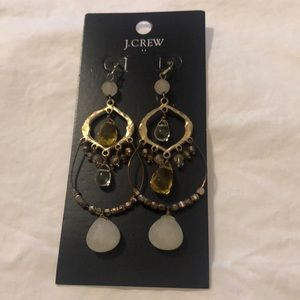 Statement earrings from JCrew